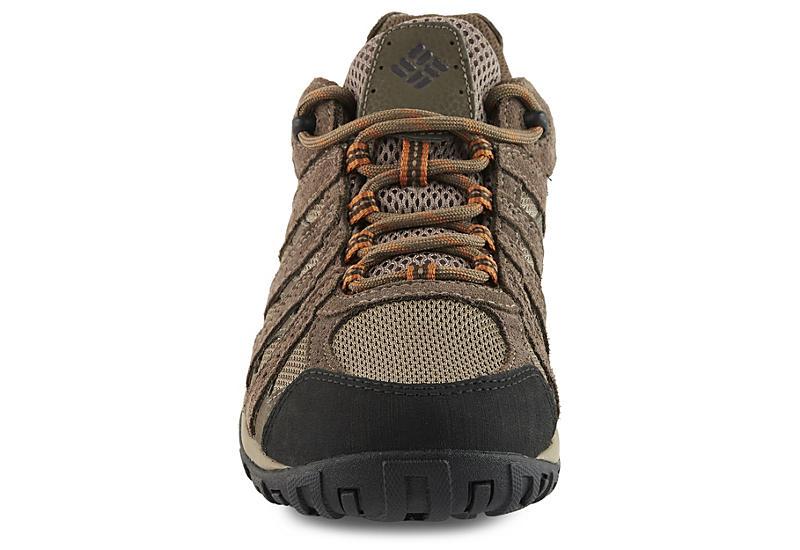 COLUMBIA Mens Redmond Waterproof Low Hiking Boot - TAUPE