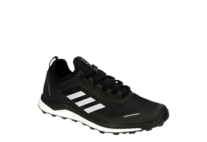 BLACK ADIDAS OUTDOOR Mens Terrex Agravic Flow Trail Shoe
