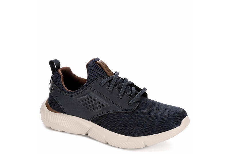 f86aff9220e7f NAVY SKECHERS Mens Ingram-marner Relaxed Fit Memory Foam Sneaker