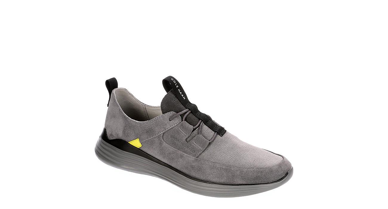 COLE HAAN Mens Grandsport Apron Sneaker - GREY