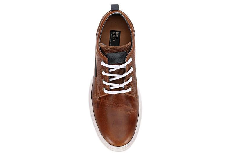 BULLBOXER Mens Mayland Sneaker - COGNAC
