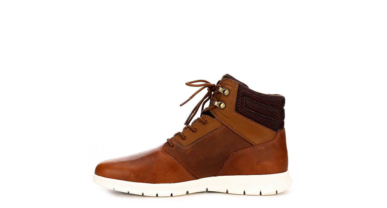 TIMBERLAND Mens Graydon Water Resistant Sneaker Boot - DARK TAN