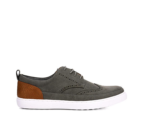 Mens Inset Wing Tip Lace Oxford
