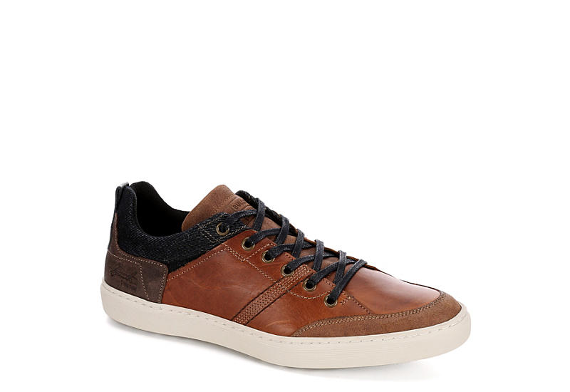 BULLBOXER Mens Merett Sneaker - COGNAC