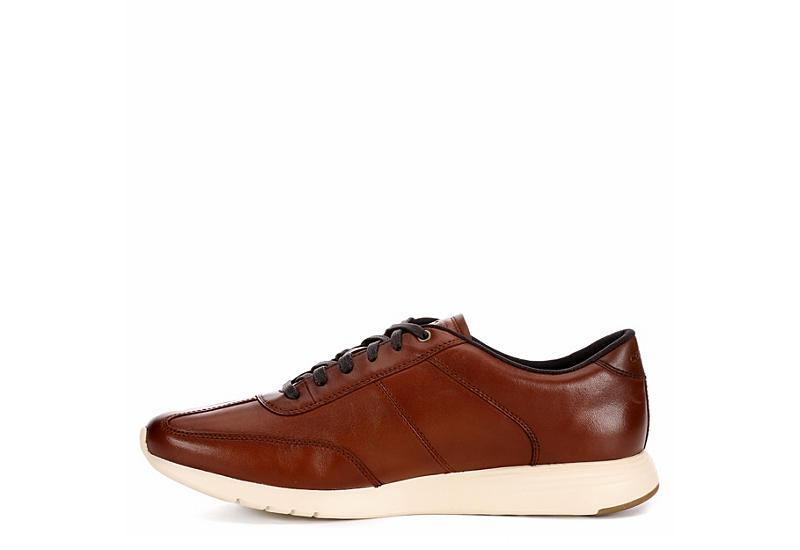 COLE HAAN Mens Grand Crosscourt Sneaker - COGNAC