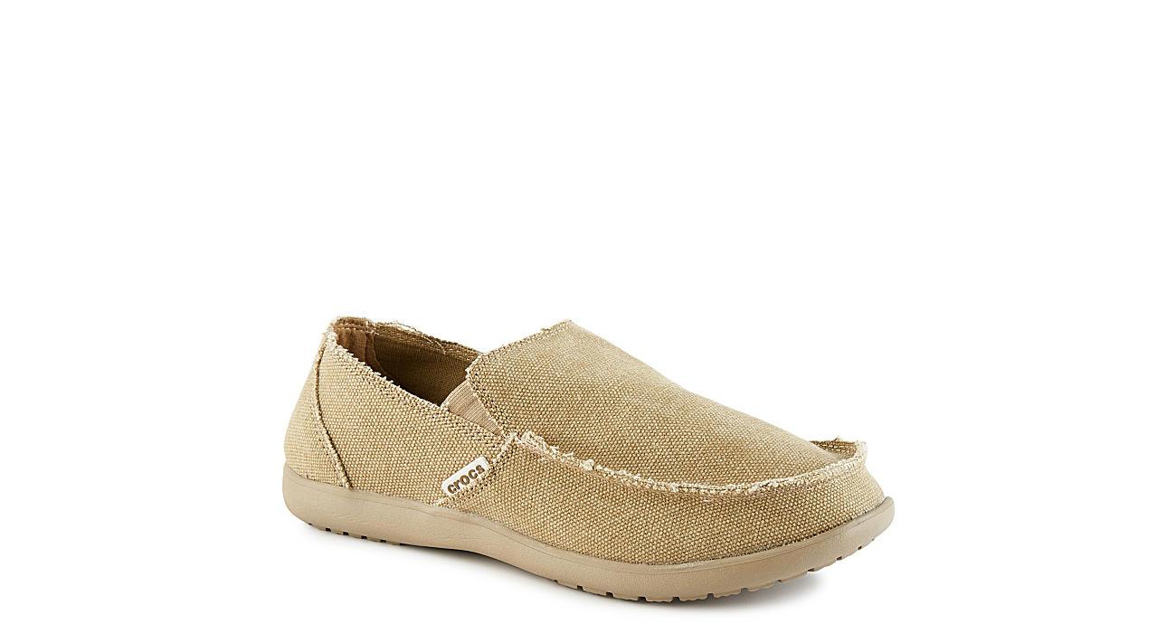 CROCS Mens Santa Cruz Canvas Shoe - KHAKI