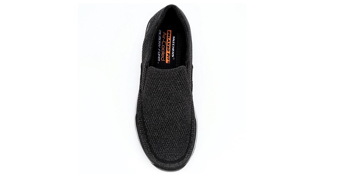 SKECHERS Mens Expected-gomel Slip-on - BLACK