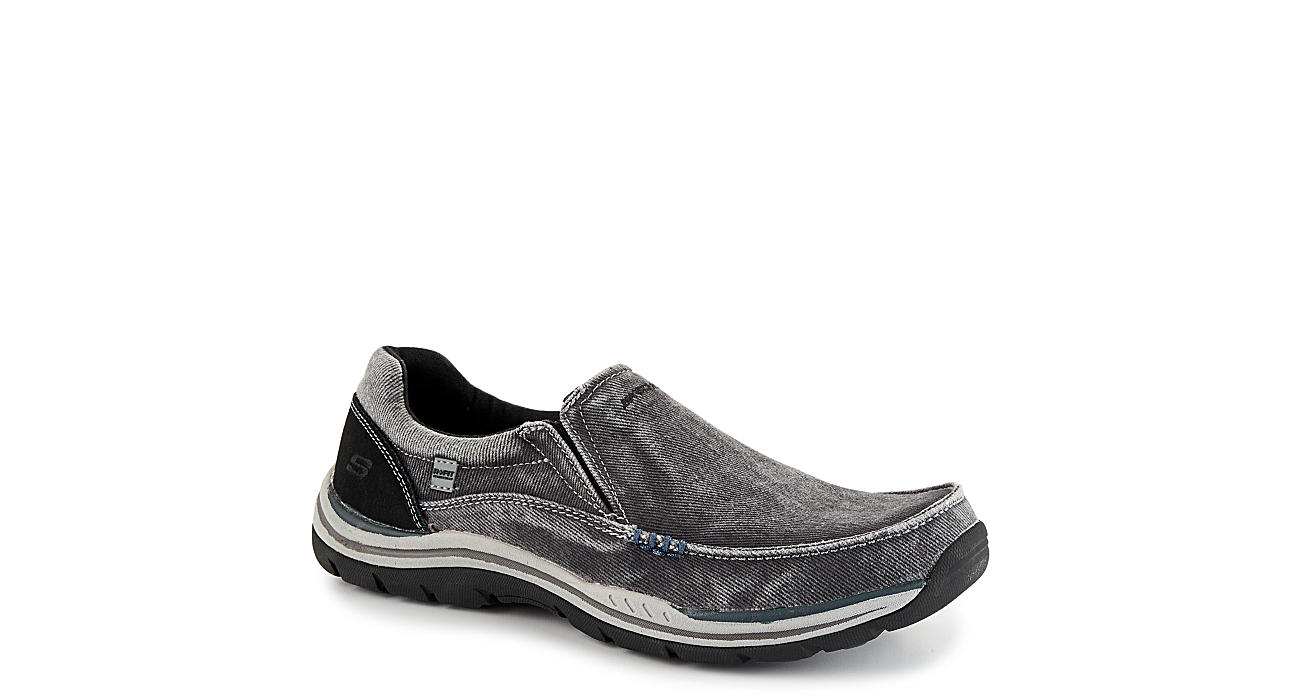 SKECHERS Mens Expected-avillo Relaxed Fit Active Loafer - BLACK