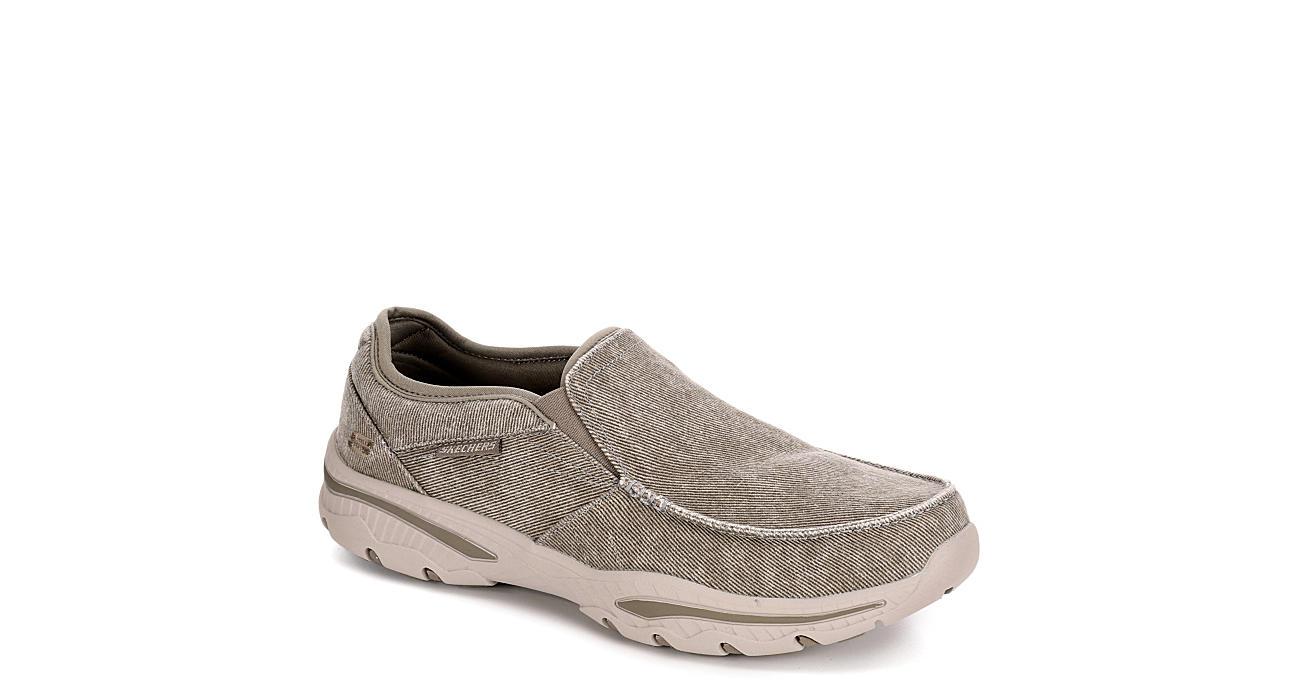 SKECHERS Mens Creston-moseco Canvas Shoe - TAUPE