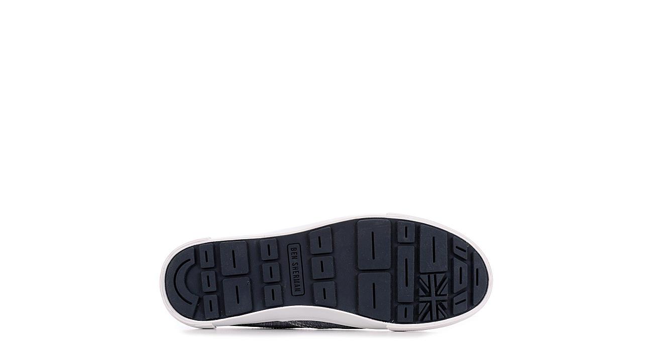 BEN SHERMAN Mens Percy Slip On Sneaker - NAVY
