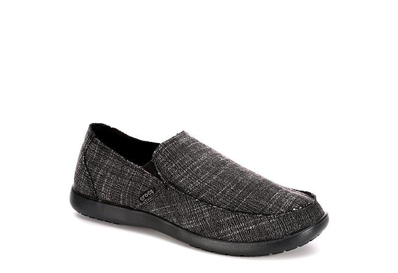 08450ec4f34b9 Black Crocs Mens Santa Cruz Casual Slip On | Casual | Off Broadway Shoes