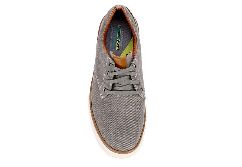 SKECHERS Mens Moreno-enderson Sneaker - TAUPE