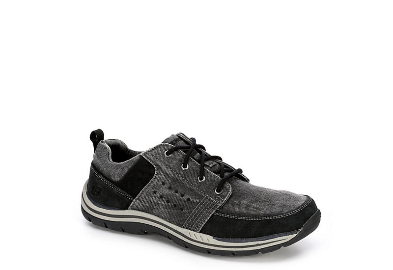 skechers relaxed fit memory foam mens sneakers