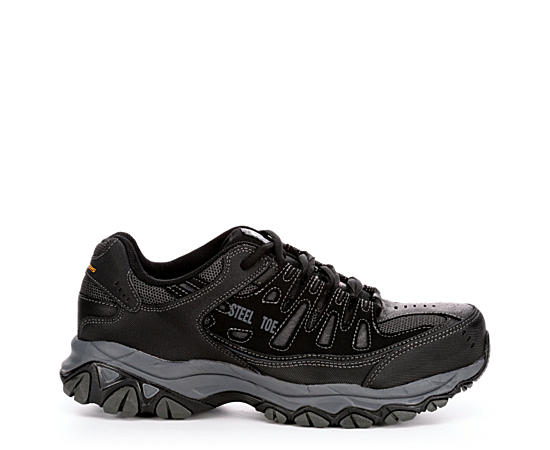 Mens Crankton Steel Toe Slip Resistant Relaxed Fit Work