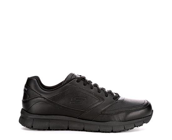 Mens Skechers Nampa Slip Resistant Lace Up Sneaker