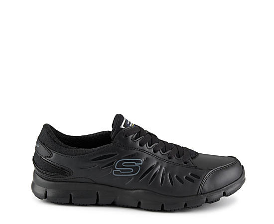 Womens Eldred Slip Resistant Relaxed Fit Work Sneaker