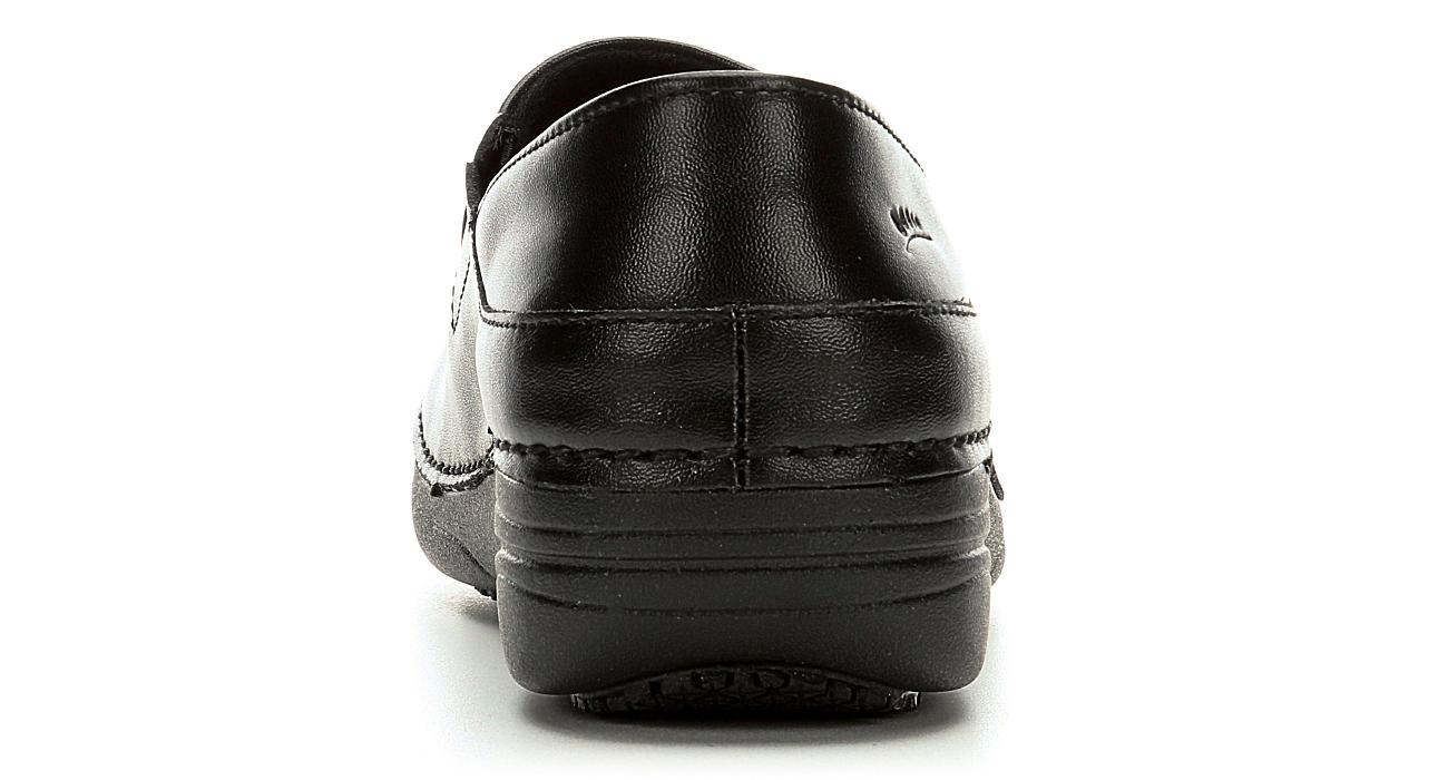 SPRING STEP Womens Manila Slip Resistant Clog - BLACK