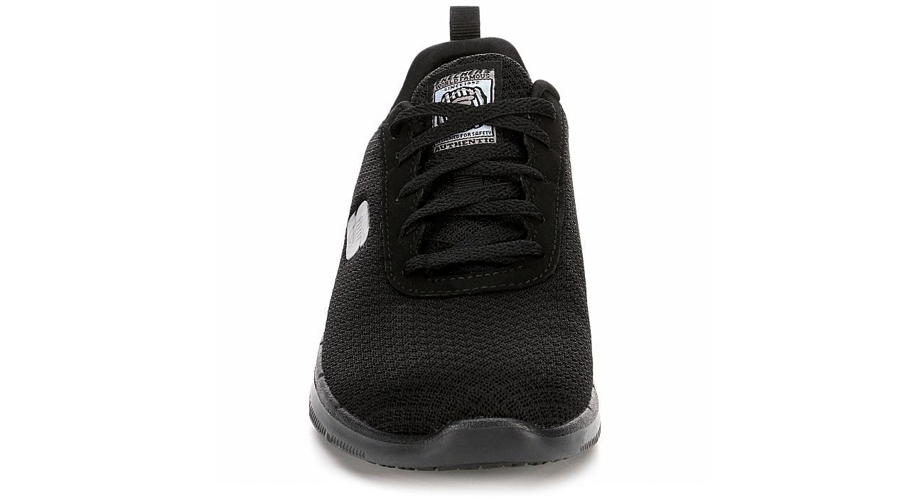 huge discount distinctive style on wholesale Skechers Womens Skechers Ghenter-bronaugh Slip Resistant Sneaker - Black