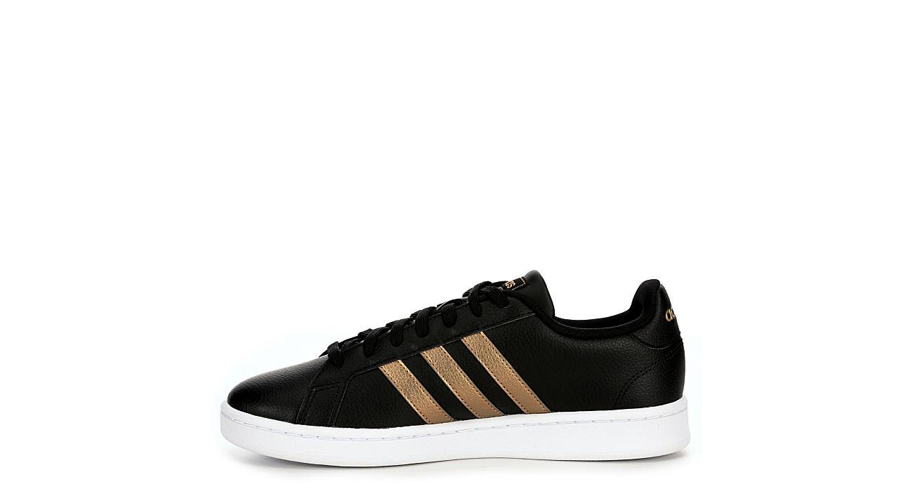 984feaea2 Adidas Womens Grand Court Sneaker - Black