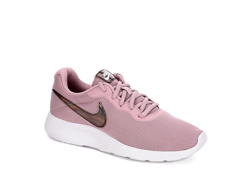 PINK NIKE Womens Tanjun Sneaker