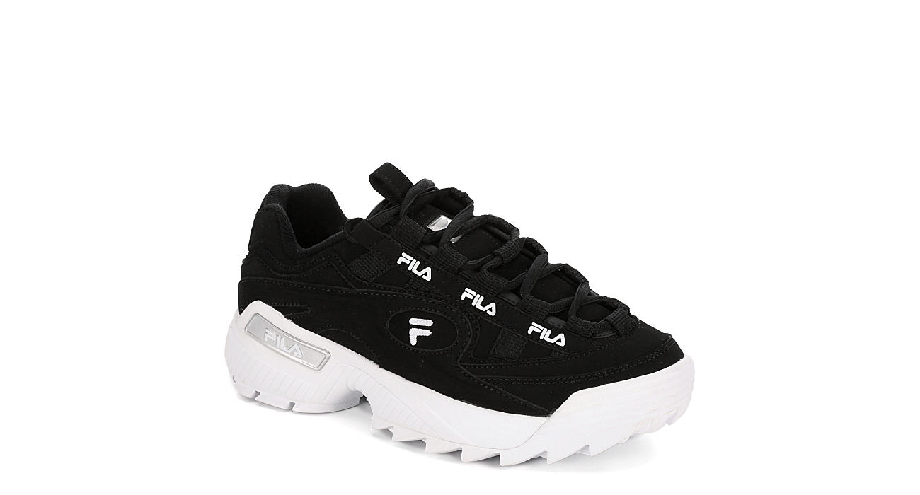 FILA Womens D-formation Sneaker - BLACK