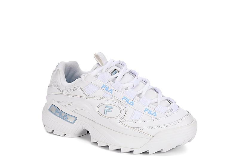 Fila Womens D-formation Sneaker - White 4d80628ae6c