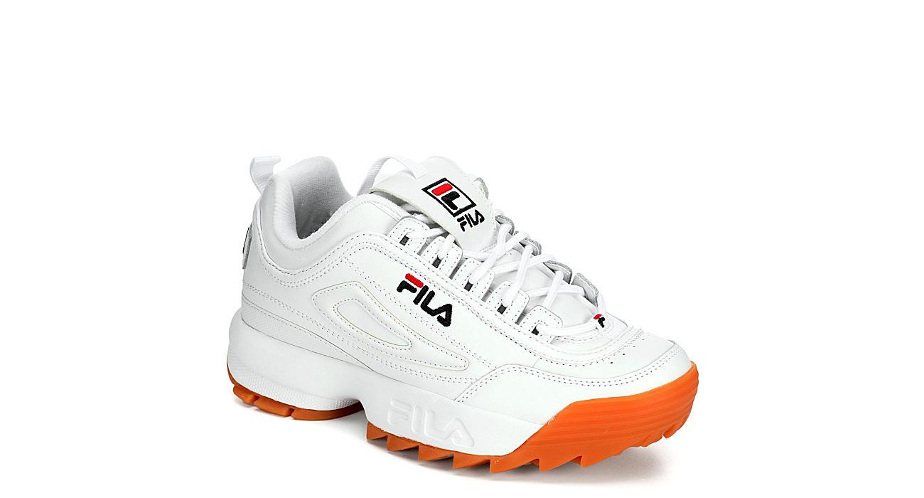 FILA Womens Disruptor Ii Premium Sneaker - WHITE