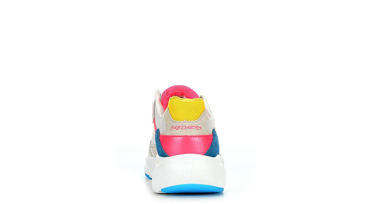 SKECHERS Womens Meridian Nw Sneaker - WHITE