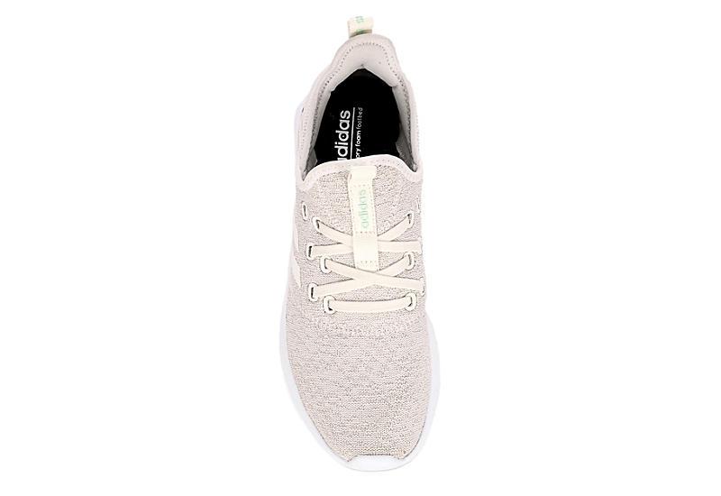 ADIDAS Womens Cloudfoam Pure Sneaker - BEIGE