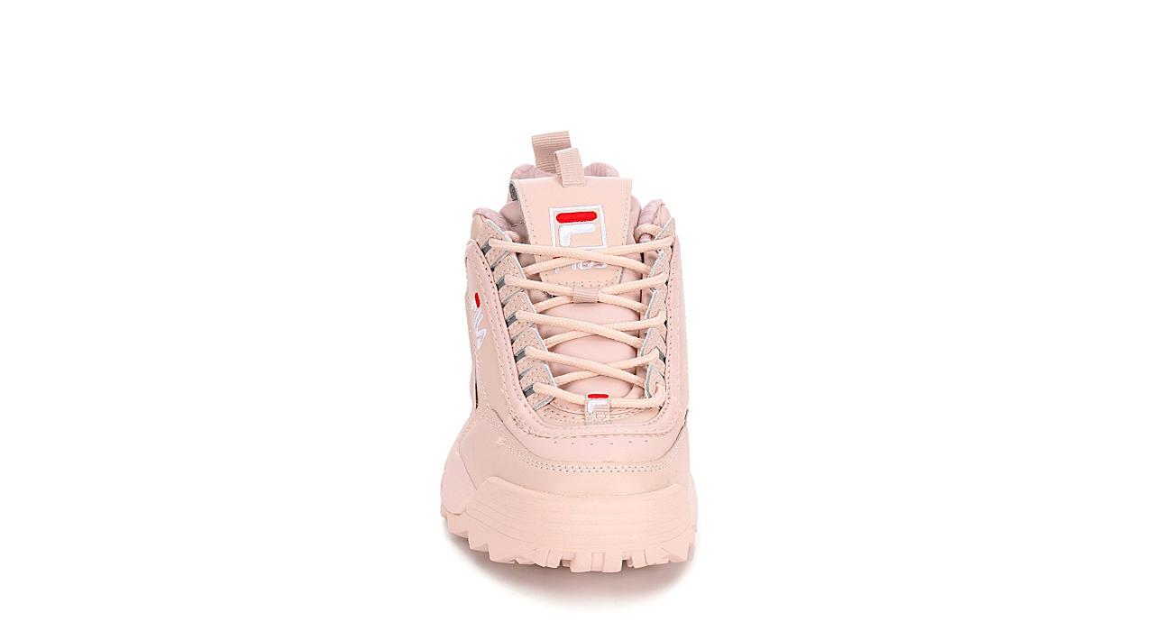 FILA Womens Disruptor Ii Premium Sneaker - BLUSH
