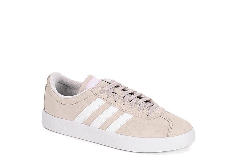 Grey Adidas Womens Vl Court 2 0 Sneaker