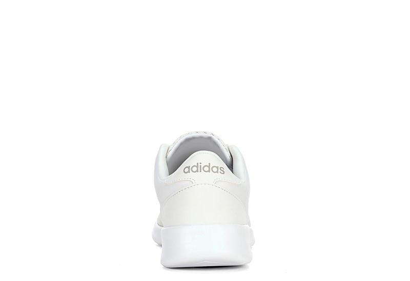 ADIDAS Womens Qt Racer Sneaker - WHITE
