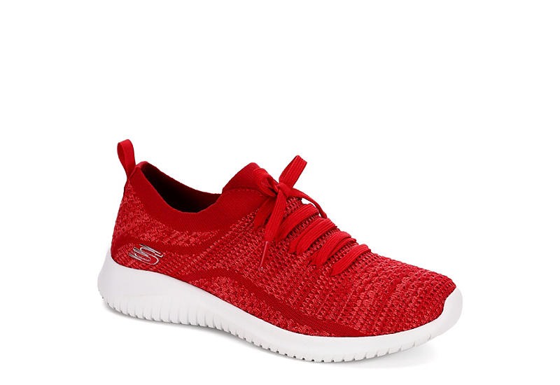 f3bab7f41ab9e Red Skechers Womens Ultra Flex Statement Sneaker | Athletic | Off ...