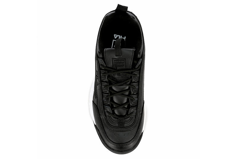 FILA Womens Disruptor Ii Premium Sneaker - BLACK