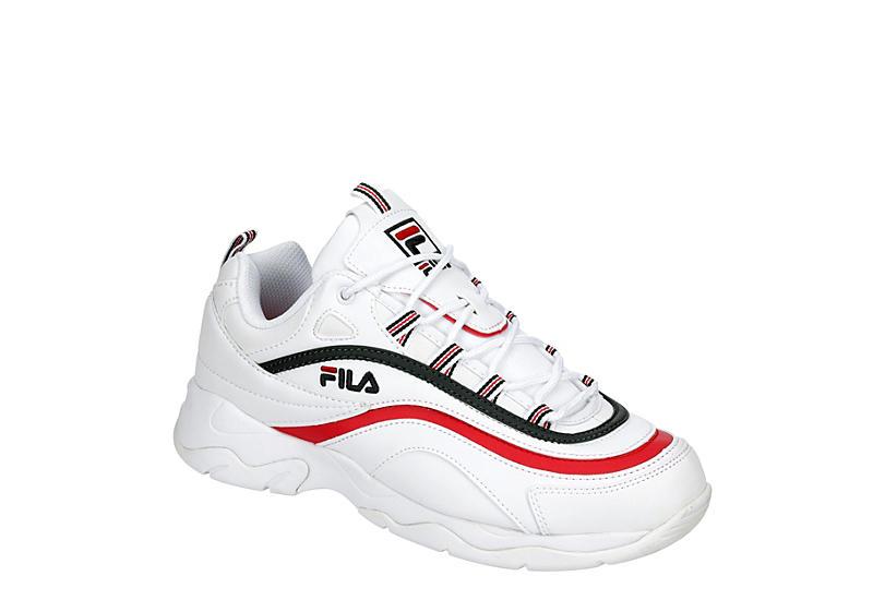 FILA Womens Ray Sneaker - WHITE