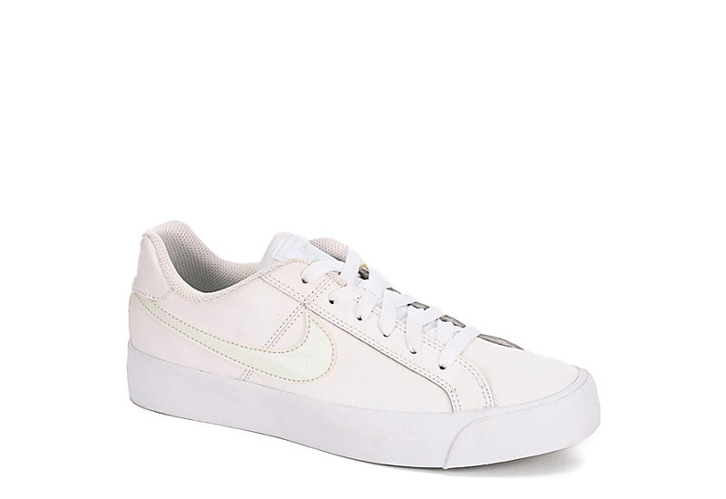 WHITE NIKE Womens Court Royale Ac Sneaker