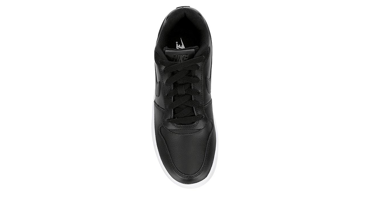 NIKE Womens Ebernon Low Sneaker - BLACK