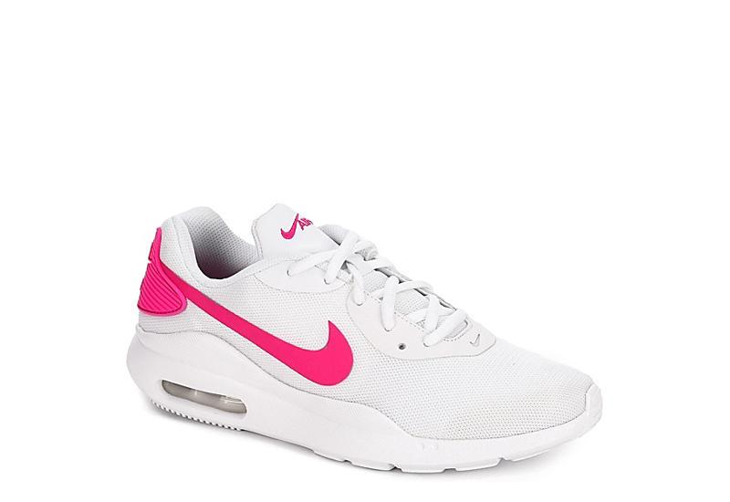 WHITE NIKE Womens Air Max Oketo Sneaker