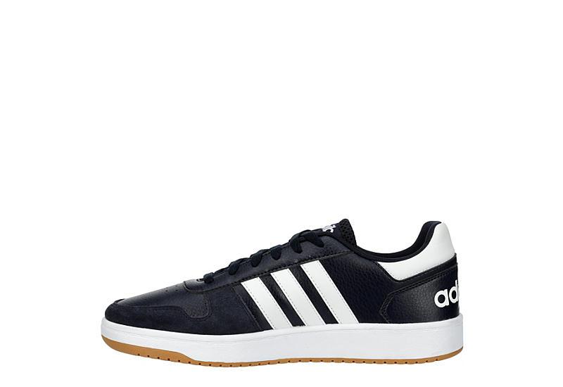 ADIDAS Mens Hoops 2.0 Sneaker - NAVY