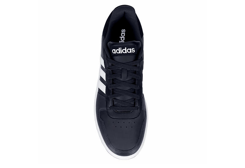 ADIDAS Mens Hoops 2.0 Sneaker - NAVY