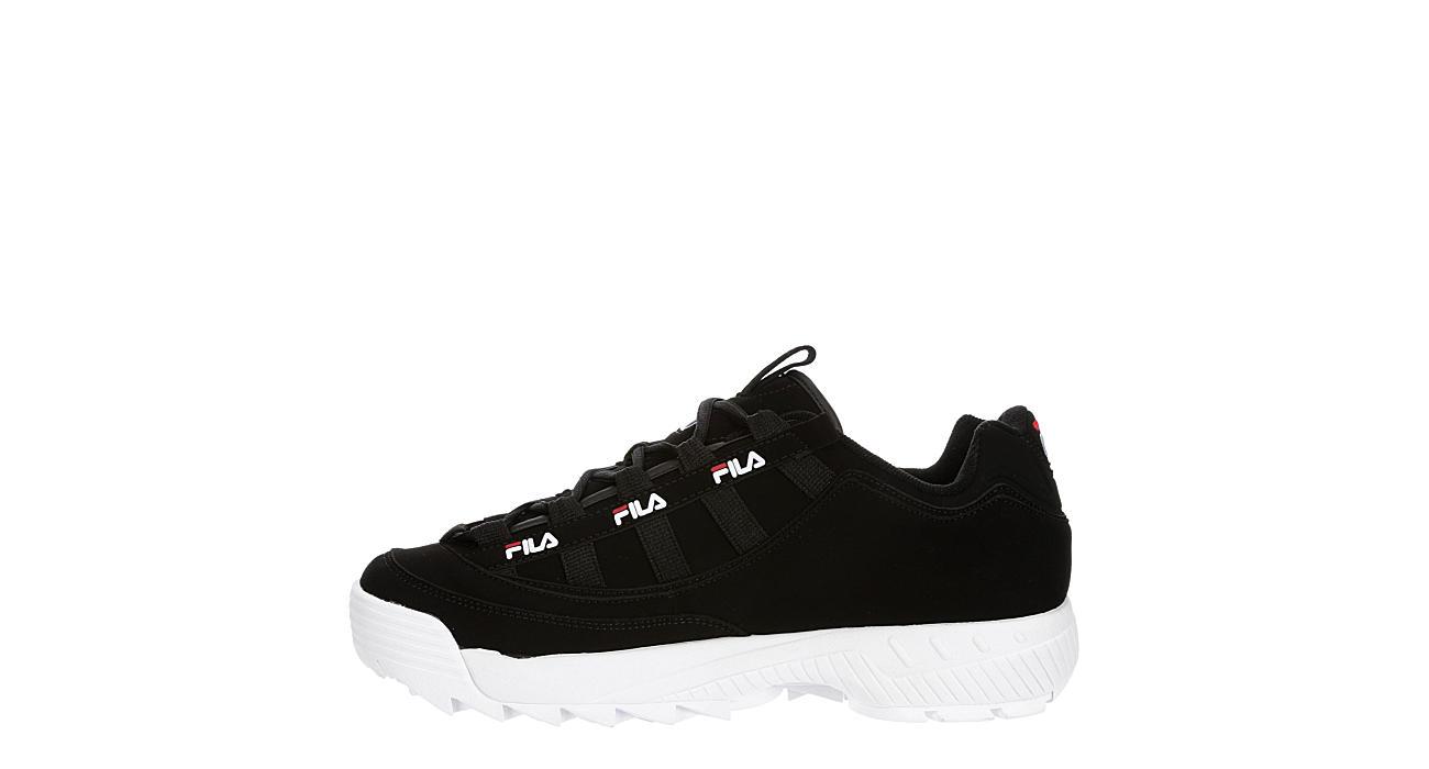 FILA Mens D-formation Sneaker - BLACK