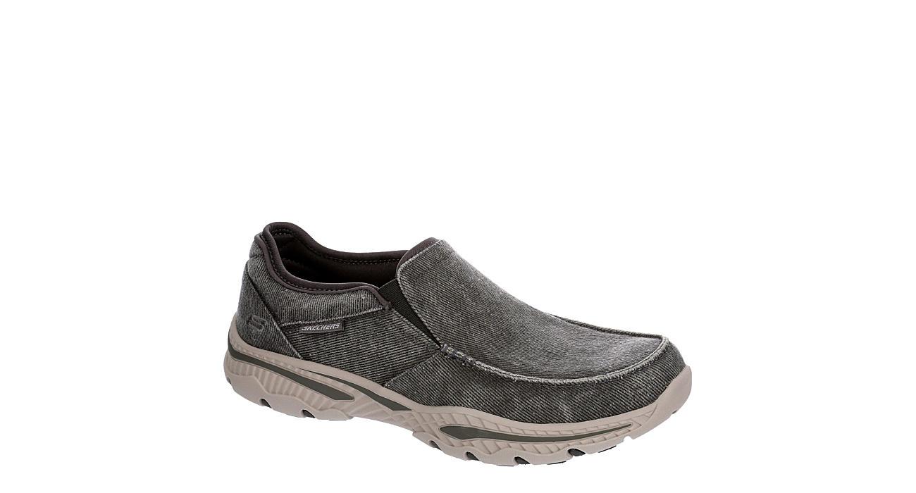 SKECHERS Mens Creston-moseco Canvas Shoe - DARK GREY