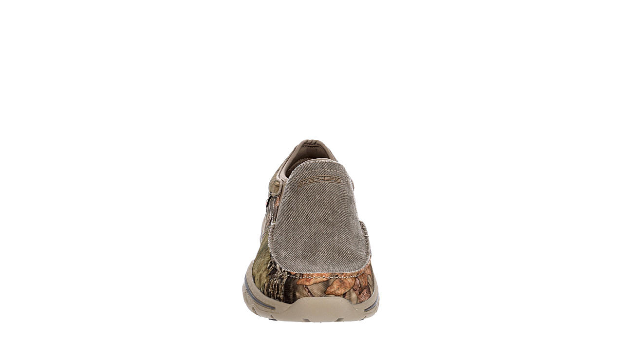 SKECHERS Mens Creston-moseco Canvas Shoe - TAUPE
