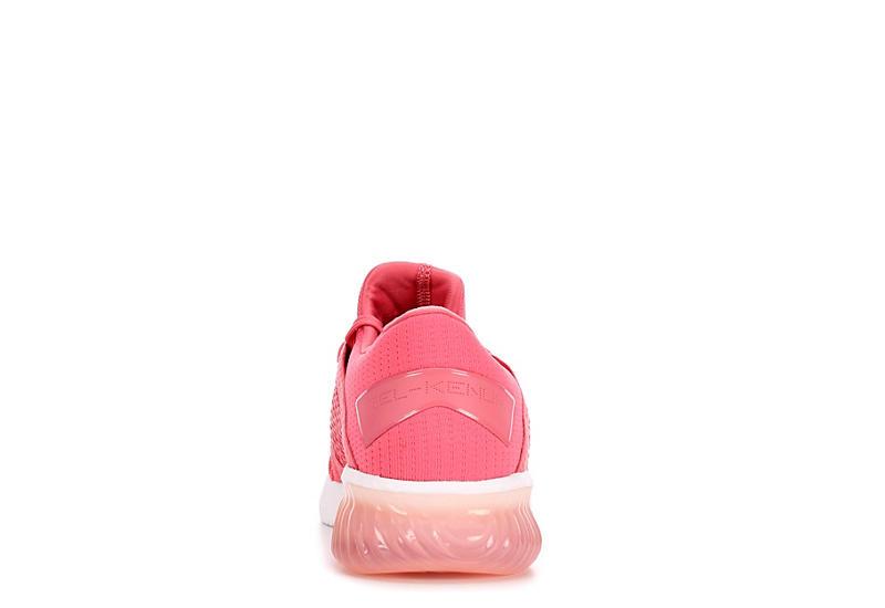 ASICS Womens Kenun Knit Running Shoe - PINK