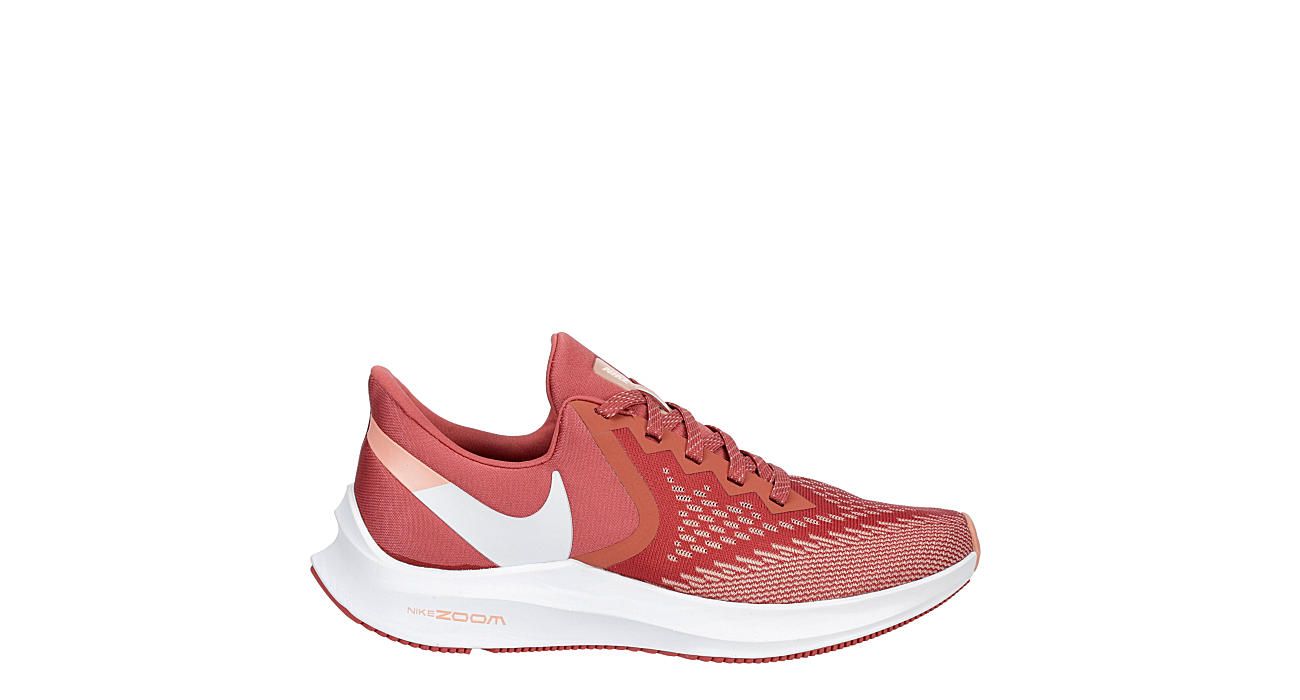 NIKE Womens Winflo 6 Running Shoe - RED