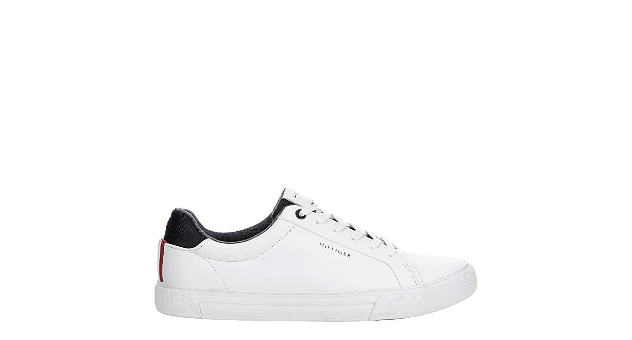 TOMMY HILFIGER Mens Rance Sneaker - WHITE