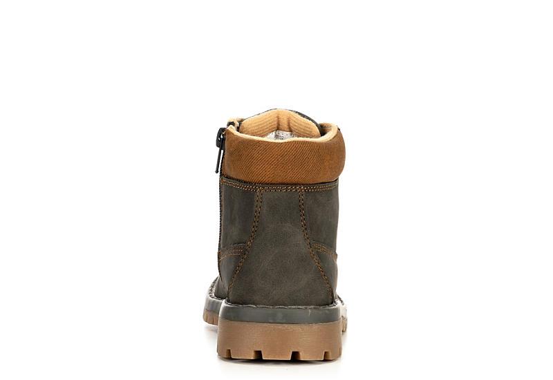 HIGHLAND CREEK Boys Brady Boot - BROWN