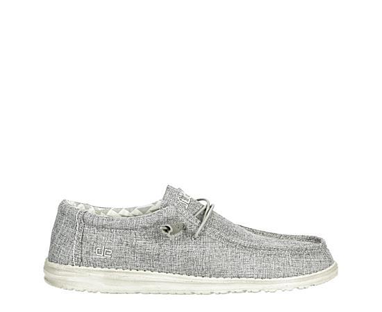 Mens Wally Linen Iron Fabric Shoe