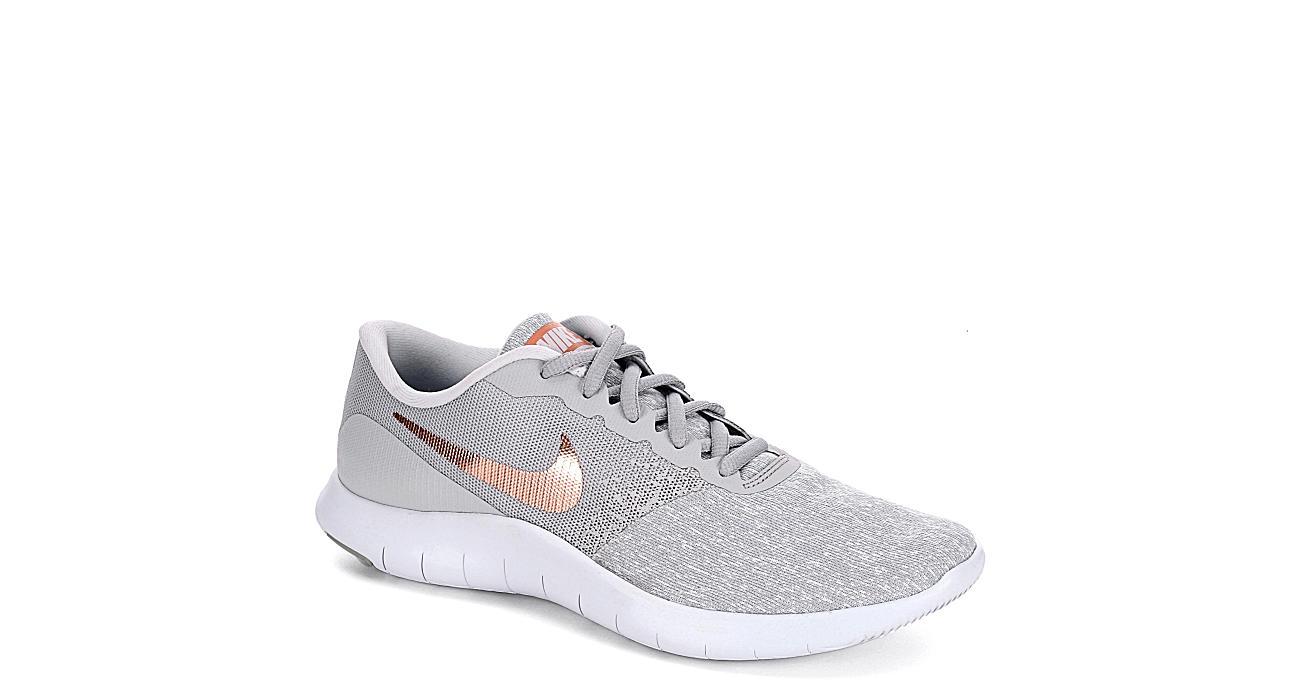 Nike Womens Flex Contact Running Shoe Grey