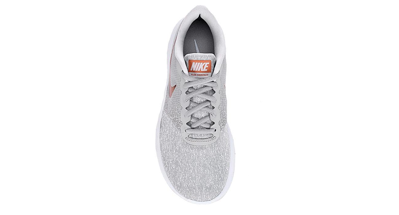 NIKE Womens Flex Contact Running Shoe - GREY